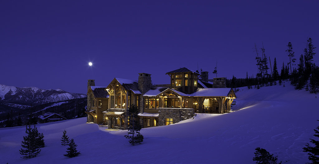 luxury big sky homes